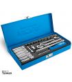 جعبه بکس نووا مدل NTS7302 درایو 1/4 اینچ 23 پارچه